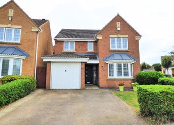 Thumbnail 4 bed detached house for sale in Walkers Way, Wootton, Northampton