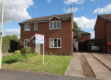 Thumbnail 2 bed property to rent in Severn Avenue, Hinckley