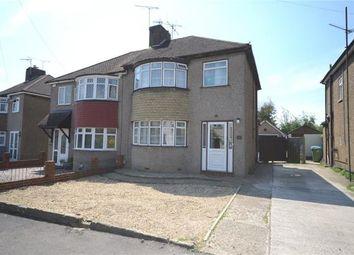 Thumbnail 3 bed semi-detached house for sale in Gillian Avenue, Aldershot, Hampshire