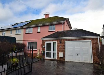 Thumbnail 3 bed semi-detached house for sale in Smallcombe Road, Paignton, Devon