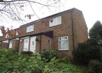 Thumbnail 2 bed end terrace house to rent in Tiddington Close, Castle Bromwich, Birmingham