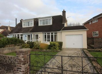 Thumbnail 3 bed semi-detached bungalow to rent in Rougemont Avenue, Torquay