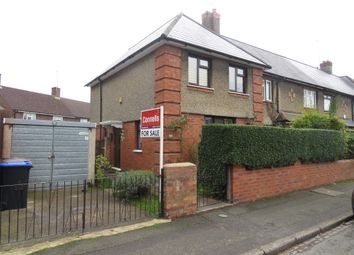 Thumbnail 3 bed end terrace house for sale in Rosedale Road, Kingsthorpe, Northampton