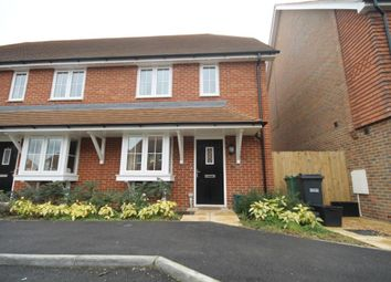 Thumbnail 3 bedroom end terrace house to rent in Newman Road, Horley, Surrey