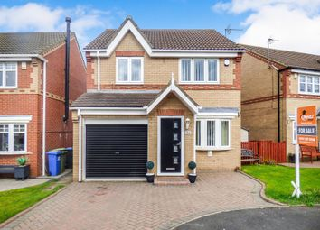 Thumbnail 3 bed detached house for sale in Garside Grove, Peterlee