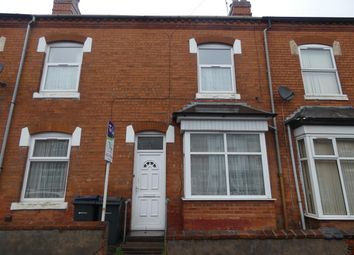 Thumbnail 3 bed terraced house to rent in Blackford Road, Sparkhill, Birmingham