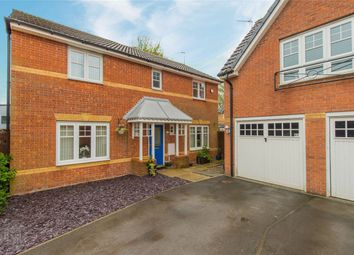 Thumbnail 4 bed detached house for sale in Everside Close, Worsley, Manchester