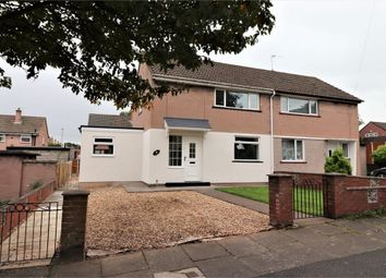 Thumbnail 2 bed semi-detached house for sale in Kentmere Grove, Morton, Carlisle, Cumbria