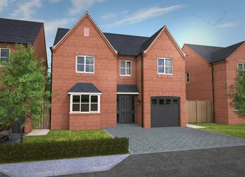 Thumbnail 5 bed detached house for sale in Off Repton Road, Willington, Derby
