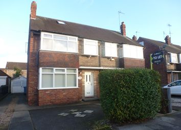 Thumbnail 2 bed semi-detached house to rent in Auckland Avenue, Hull