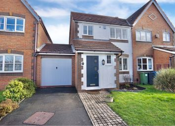 Thumbnail 3 bed semi-detached house for sale in Durham Close, Tamworth