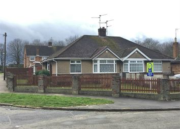 Thumbnail 2 bed semi-detached bungalow for sale in Dorset Road, Corby, Northamptonshire