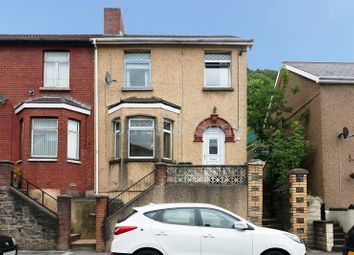 Thumbnail 3 bed end terrace house for sale in Risca Road, Cross Keys, Newport, Newport.