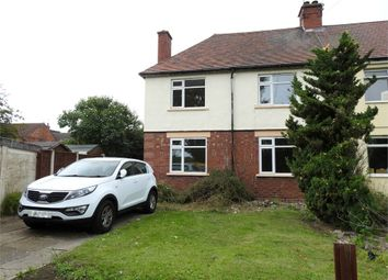 Thumbnail 3 bed semi-detached house to rent in Mona Road, Burton-On-Trent, Staffordshire