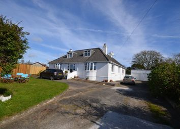Thumbnail 4 bed detached bungalow for sale in Trebarvah Road, Constantine, Falmouth