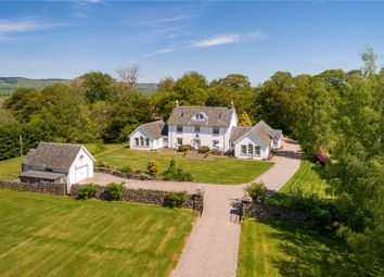 Thumbnail 6 bed detached house for sale in Greenhall, Crieff, Perthshire
