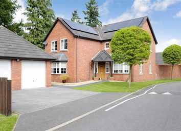 Thumbnail 4 bed detached house for sale in Telford Rise, Chirk, Wrexham