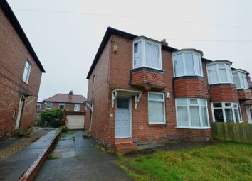 Thumbnail 3 bedroom flat for sale in Greywood Avenue, Fenham, Newcastle Upon Tyne