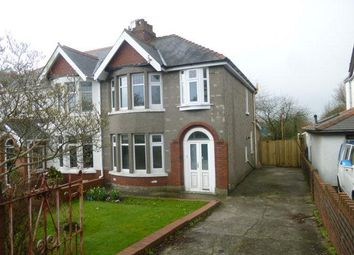 Thumbnail 3 bedroom semi-detached house to rent in Colcot Road, Barry
