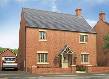"Thumbnail 4 bed detached house for sale in ""The Sherwood"" at Radstone Road, Brackley"