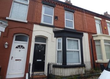 Thumbnail 2 bedroom terraced house to rent in Dunbar Street, Liverpool