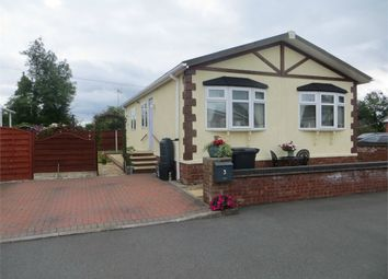 Thumbnail 2 bed mobile/park home for sale in Brookside Park, Kinnerley, Nr. Oswestry