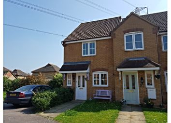 Thumbnail 2 bed semi-detached house to rent in Hockley Court, Bedford