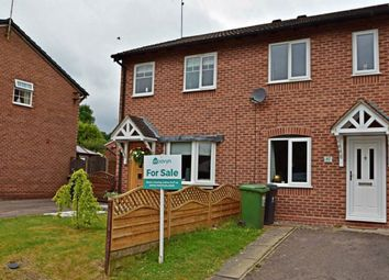 Thumbnail 2 bedroom terraced house for sale in Bilbury Close, Walkwood, Redditch