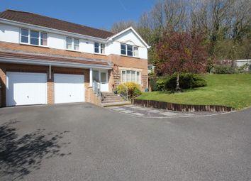 Thumbnail 4 bedroom detached house for sale in Afal Sur, Pencoedtre Village, Barry