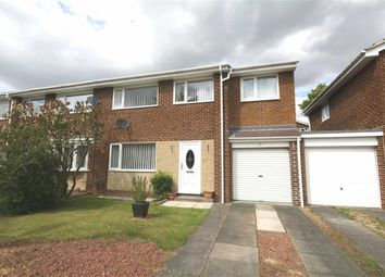 Thumbnail 4 bed semi-detached house for sale in Barford Drive, Waldridge Park, Chester Le Street, County Durham