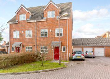 Thumbnail 4 bed town house for sale in Edwards Croft, Bradville, Milton Keynes