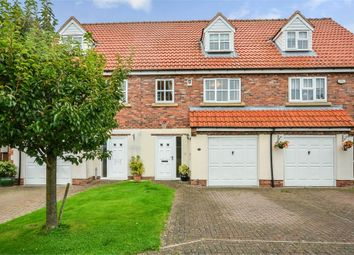 Thumbnail 4 bed terraced house for sale in Fieldside Court, Tadcaster, North Yorkshire