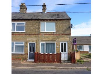 Thumbnail 3 bed end terrace house for sale in Croft Road, Upwell, Wisbech