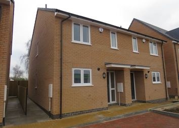 Thumbnail 2 bed semi-detached house for sale in Southfields Drive, Stanground, Peterborough
