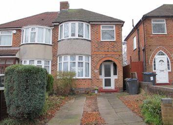 3 bed semi-detached house for sale in Bryn Arden Road, Yardley, Birmingham B26