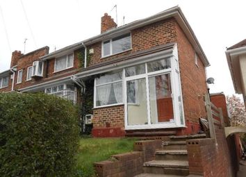 Thumbnail 2 bed end terrace house to rent in Harlaston Road, Birmingham