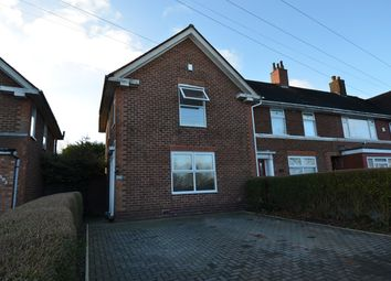 Thumbnail 2 bedroom end terrace house for sale in Brook Lane, Billesley, Birmingham