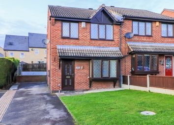 Thumbnail 3 bed semi-detached house for sale in Nunns Court, Featherstone, Pontefract