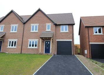 Thumbnail 4 bed semi-detached house for sale in 11 Youngs Way, Pontesbury, Shrewsbury