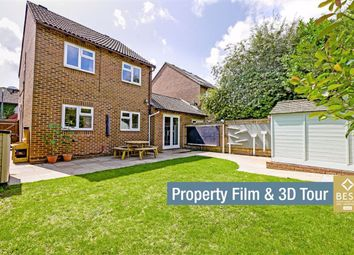 Thumbnail 3 bed link-detached house for sale in Hawkstown View, Hailsham