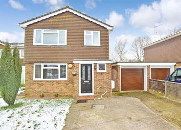 Thumbnail 3 bed detached house for sale in Willow Way, Ashington, West Sussex