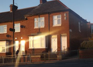 Thumbnail 3 bedroom flat to rent in Armstrong Road, Newcastle Upon Tyne