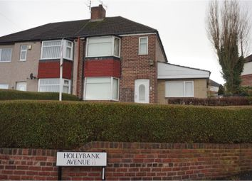 Thumbnail 2 bed semi-detached house for sale in Hollybank Avenue, Sheffield