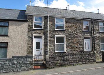 Thumbnail 2 bed terraced house to rent in Jones Street, Blaenau Ffestiniog, Gwynedd