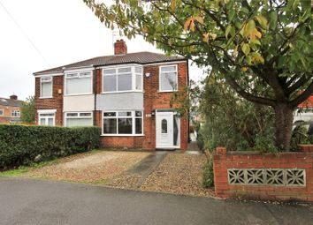 Thumbnail 3 bed semi-detached house for sale in Ancaster Avenue, Hull