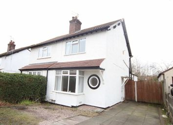 Thumbnail 2 bed semi-detached house for sale in Downham Drive, Heswall, Wirral