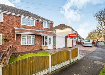 Thumbnail 3 bedroom semi-detached house for sale in Almond Avenue, Yew Tree Estate, Walsall