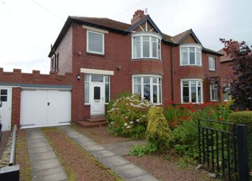 Thumbnail 3 bed semi-detached house for sale in Morwick Road, Warkworth, Morpeth