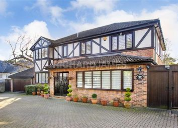 Thumbnail 5 bed detached house for sale in Fallowfield Lodge, Hendon Wood Lane, London