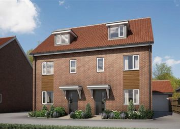 Thumbnail 3 bed terraced house for sale in Eagle Way, Hampton Centre, Peterborough